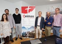 O director de Xesgalicia, Juan Cividanes, mantivo unha reunión de traballo cos directivos da empresa Teimas Desenvolvemento